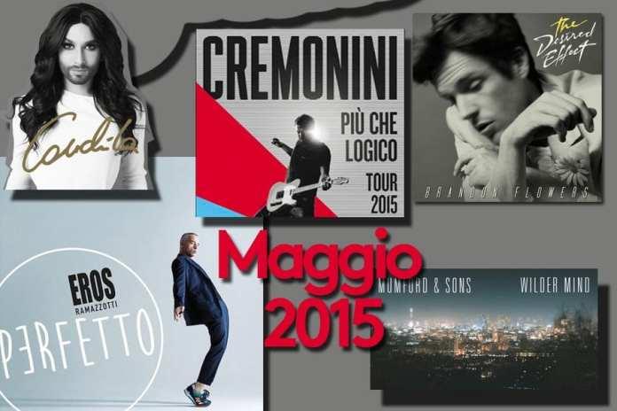 Uscite discografiche Maggio 2015 con Faith No More e Ramazzotti