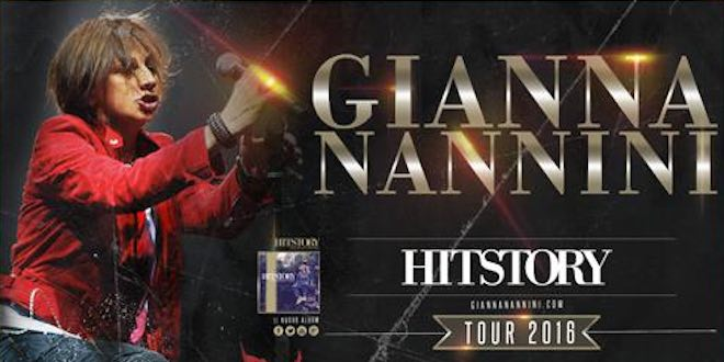 Hitstory Tour 2016: Gianna Nannini aggiunge nuove date