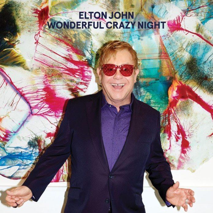 Elton John - Wonderful Crazy Night - artwork