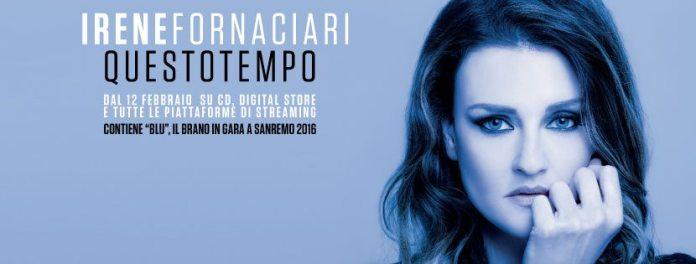 """Irene Fornaciari: """"Blu"""". Testo"""