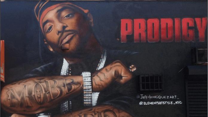 Sfregiato il graffito dedicato al rapper MC Prodigy dei Mobb Deep