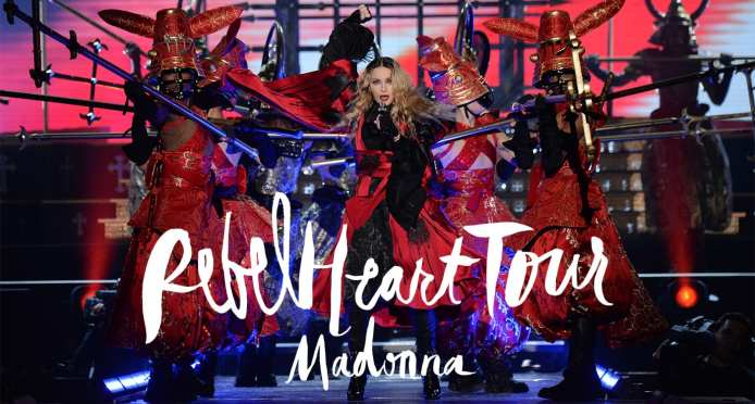 "È uscito ""Rebel Heart Tour"" di Madonna"
