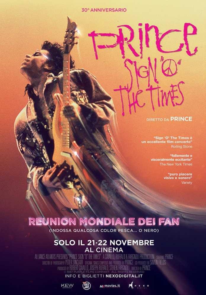 "Prince: ""Sign o' the times"" torna al cinema in versione restaurata"