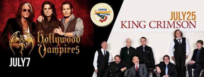 Hollywood Vampires e King Crimson al Lucca Summer Festival 2018