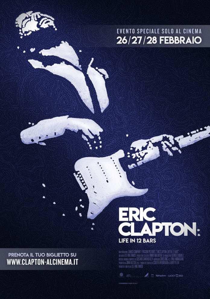 "Arriva in sala il docufilm ""Life in 12 bars"" su Eric Clapton"