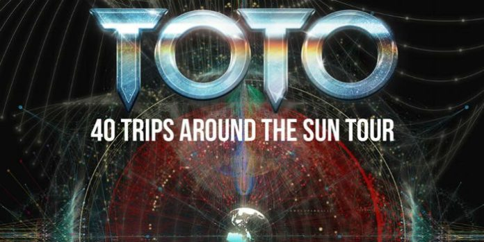 "I Toto in concerto a Bologna per il ""40 Trips Around The Sun Tour"""