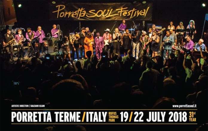 Porretta Soul Festival 2018, il cartellone