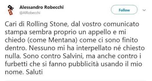 © Twitter / Alessandro Robecchi