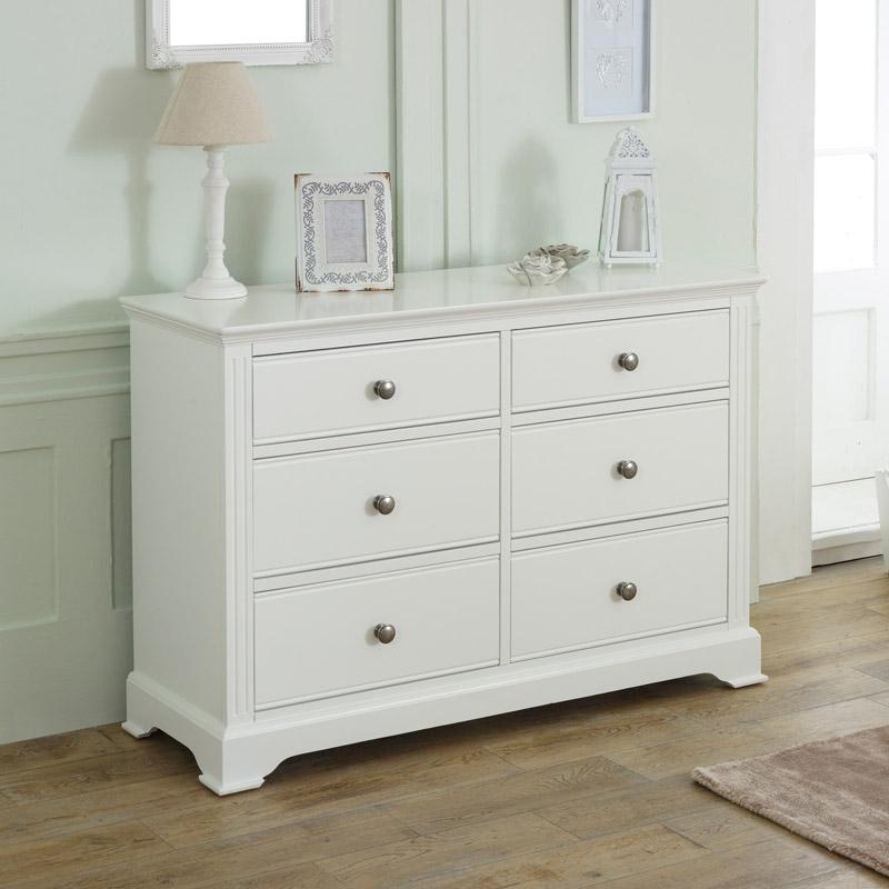 large white chest of drawers davenport white range