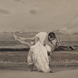 "Sandra & Craig, 2017, Acrylic Painting, 36"" x 54"""