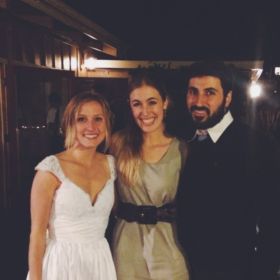 Jessica and Alexander with the beautiful bride, Jessie