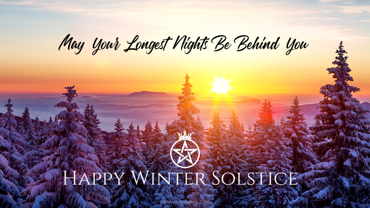 A Winter Solstice Blessing from the Witch Queen