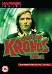 Captain Kronos Vampire Hunter DVD