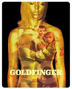Goldfinger Limited Edition Steelbook Blu ray