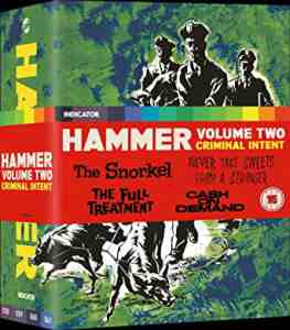 Hammer Volume Two: Criminal Intent - Limited Edition Blu Ray Blu-ray