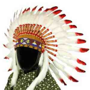 Indian headdress native american feathers