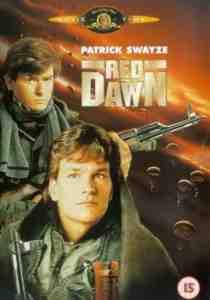 Red Dawn DVD Patrick Swayze