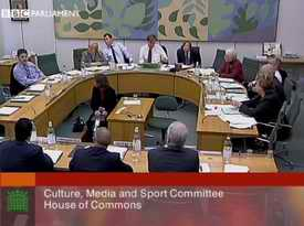 Culture, Media and Sport select committee