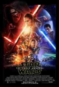 Poster Star Wars the Force Awakens 2015 Jj Abrams