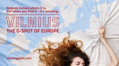 vilnius tourism poster