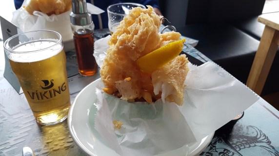 Fish and Chips Reykjavik Fish