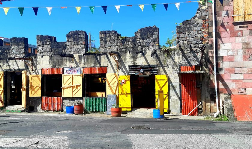 Ruins Rock Café Dominica