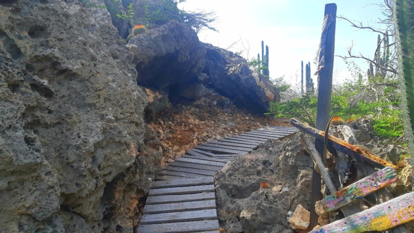 trail hiking in Curacao
