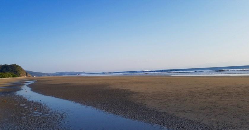 Nicaragua Playa Hermosa sand and sea collab