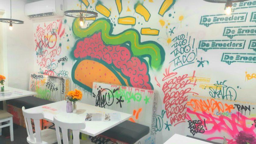 De Broeders graffiti wall