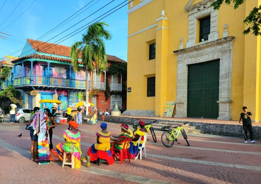 Plaza de la Trinidad Getsemani Cartagena