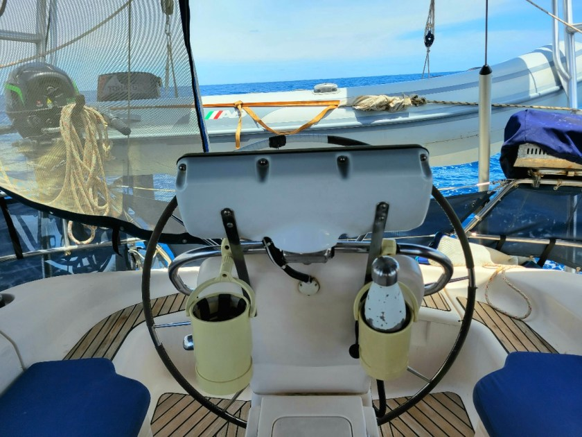 Autopilot worked sailing from Colombia to Panama