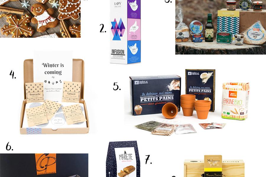 Idées cadeaux comestibles pour les gourmands