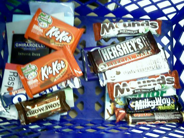 basket of candies
