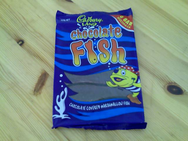 chocolate fish