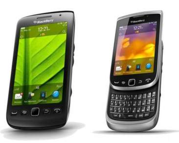 Blackberry Torch 9810 and Torch 9860