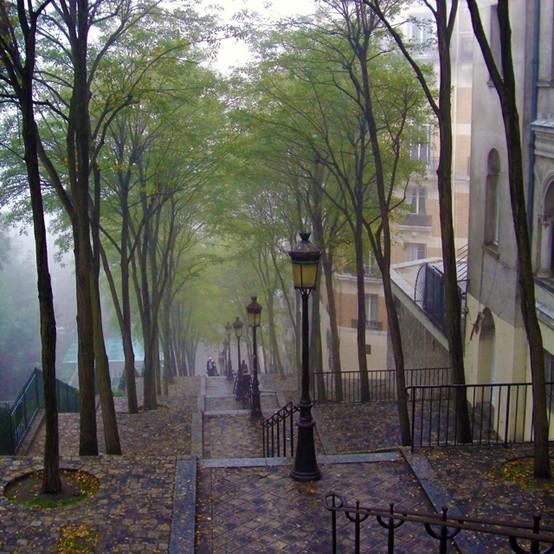 Rainy Day, Montmartre, Paris