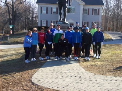 Start of the Boston Course Run