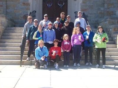 End of Boston Course Run