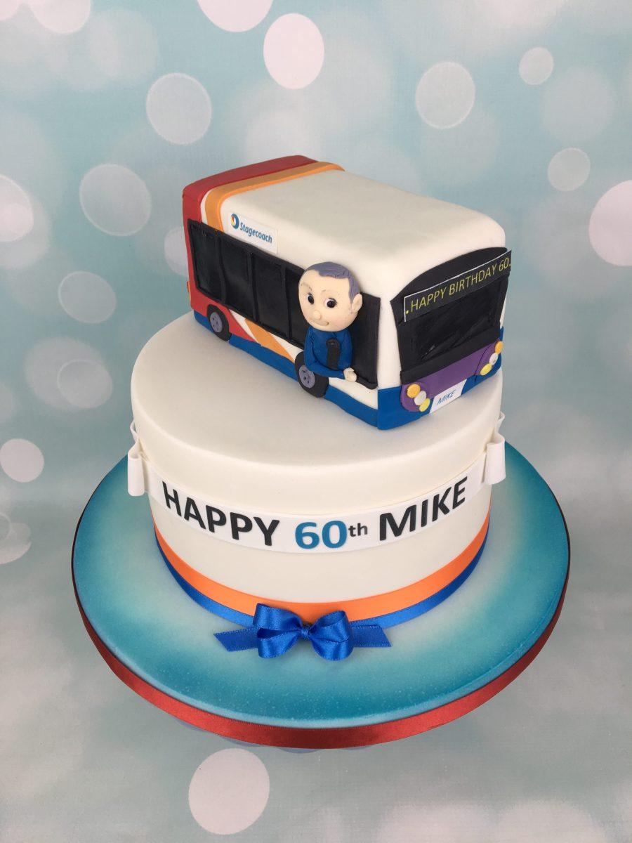 Stagecoach Bus Birthday Cake Mel S Amazing Cakes