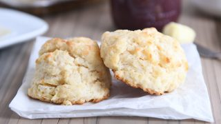 Easy Flaky Buttermilk Drop Biscuits