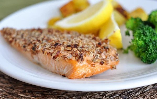 Maple Pecan Salmon