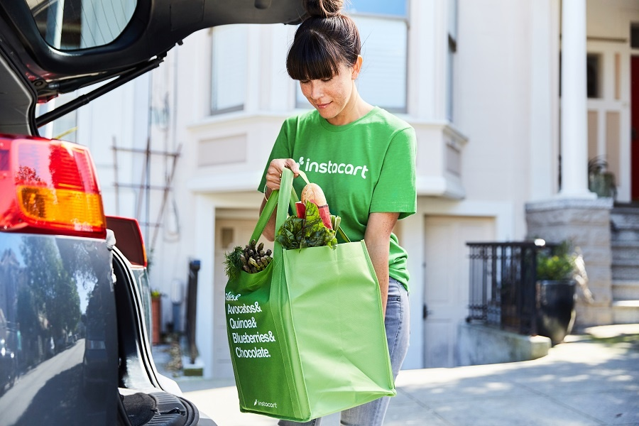 grocery shopping delivery with instacart