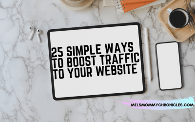 25 Simple Ways To Boost Traffic To Your Website