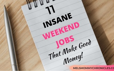 15 INSANELY HIGH-PAYING WEEKEND JOBS (GREAT SIDE-HUSTLE IDEAS!)