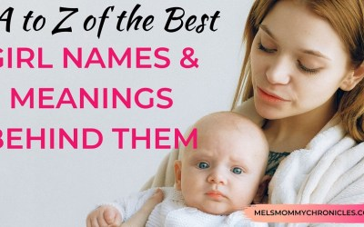A to Z of the Best Girl Names and Meanings Behind Them