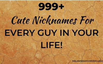 Cute Nicknames For Guys: 1000+ Pet Names For Every Guy In Your Life