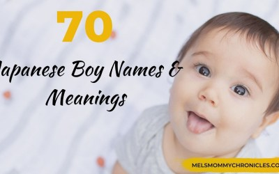 Japanese Boy Names & Meanings