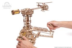 Ugears Aviator Model Kit