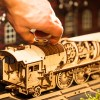 Ugears V-Express Steam Train with Tender Model Kit