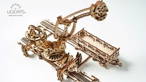 Ugears Rail Manipulator Mechanical Town Series (62)